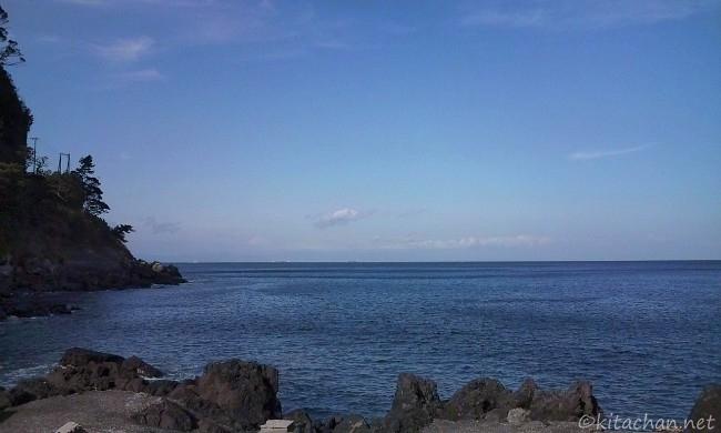 冬の暖かい伊豆大島