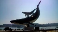 鯨のオブジェ