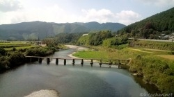 岩井沈下橋