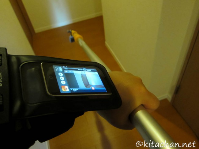 GoPro Hero 3 + iPod touch
