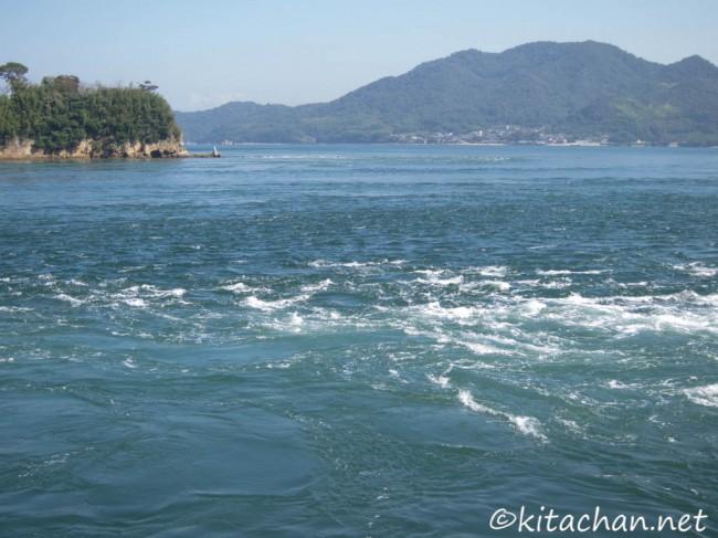 大島の渦潮