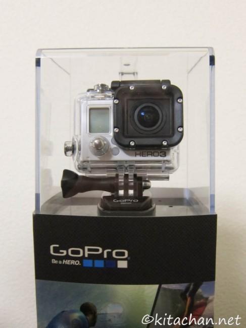 GoPro HERO3を購入しました