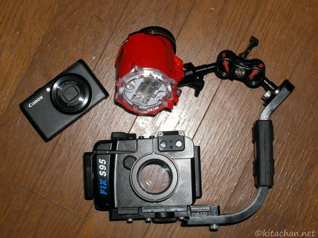 PowerShot S95とFIX S95